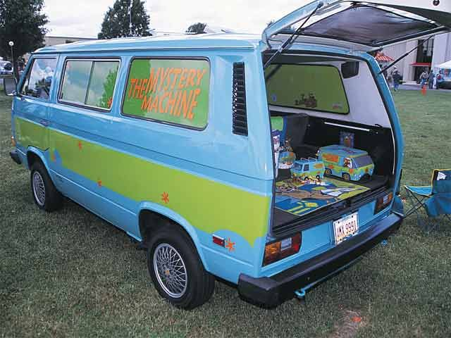 scooby doo s mystery machine vanagon hacks mods. Black Bedroom Furniture Sets. Home Design Ideas