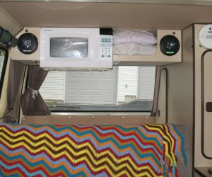 Installing a microwave in your Vanagon
