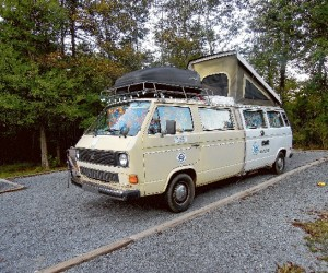 20 foot long stretch Vanagon