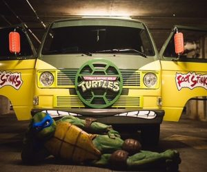 Teenage Mutant Ninja Turtle Vanagon