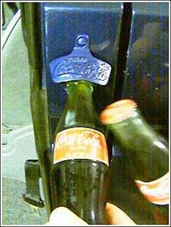 Vanagon bottle opener