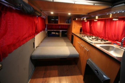 The ultimate custom Westy interior