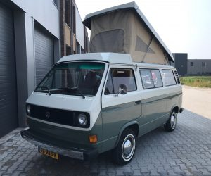 Gorgeous two tone Vanagon restored