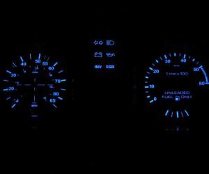 Dash lights color change
