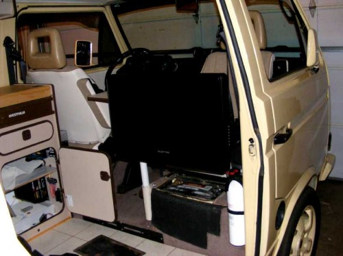 Inside the Vanagon