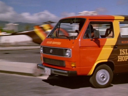 Remember the Magnum P.I. Vanagon?