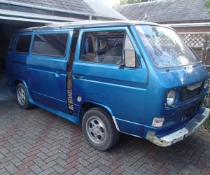 The weirdest Vanagon wheels I've ever seen