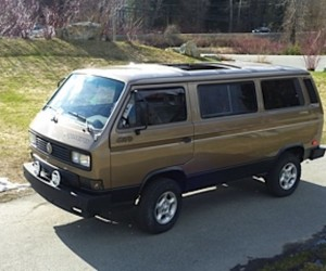 1986 VW Syncro sun roof restored