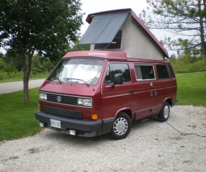A sun shade for the pop top window?