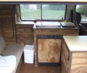 1980 Vanagon's Rustic interior