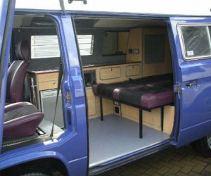 Custom interior by GTCampers