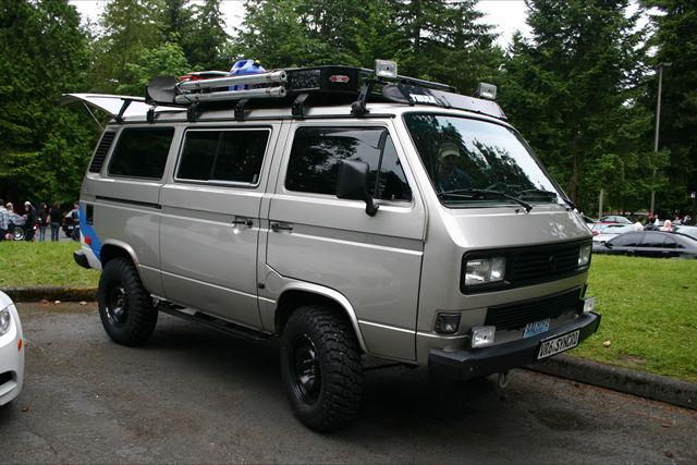 The Ultimate Adventure Vehicle Vr6 Syncro Conversion