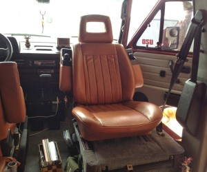 Reupholstered Vanagon Seats
