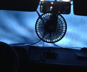 Where do you mount your fan?