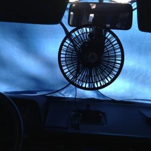 Where do you mount your fan?
