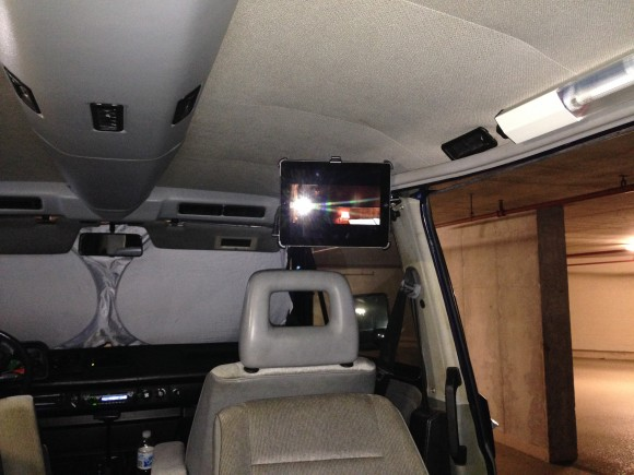 ipad mount vanagon