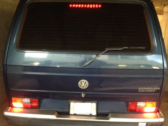 vanagon third brake light