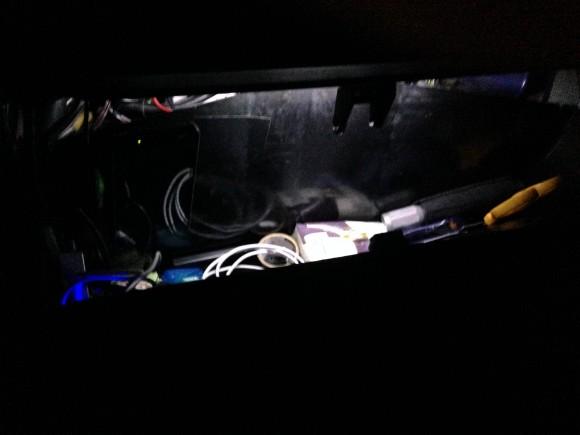 vanagon glove box lights