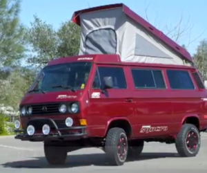 7′ Syncro Westfalia Weekender Subaru SVX Conversion