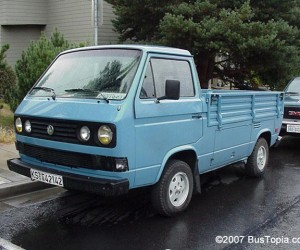 Mostly stock single cab Vanagon truck