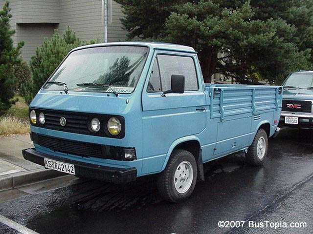 Mostly stock single cab Vanagon truck | Vanagon Hacks & Mods – VanagonHacks.com