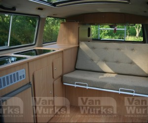 Gorgeous classic interior for the Volkswagen T25