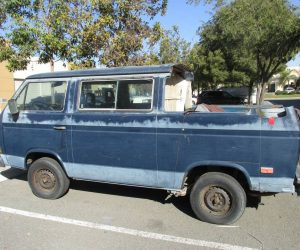 Abandoned Vanagon Conversion Project