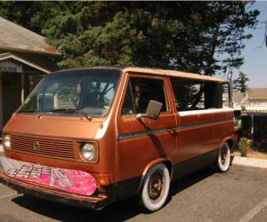 The almost cabriolet Vanagon