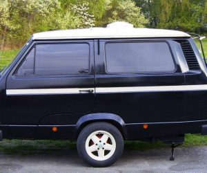 Custom Vanagon Trailer in Black