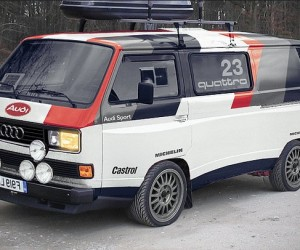 Vanagon body kit by Audi?