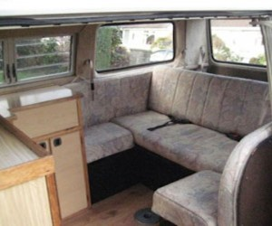 VW T25 Autosleeper with wrap around rear seat