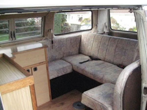 Vw T25 Autosleeper With Wrap Around Rear Seat Vanagon