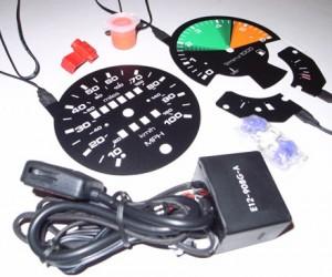 Backlit Vanagon Gauge Upgrade Kit