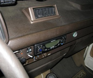 Dash board AC vent in a Vanagon?