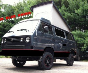 Blue Rhino Subagon Syncro Westfalia is a beauty