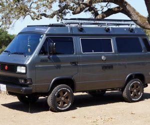 Bronze powder coated Vanagon rims