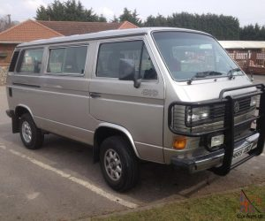 Average Syncro with Massive Bullbar