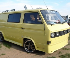 Bumperless VW T3 Transporter
