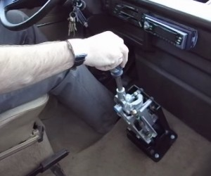 Vanagon cable shifter mod