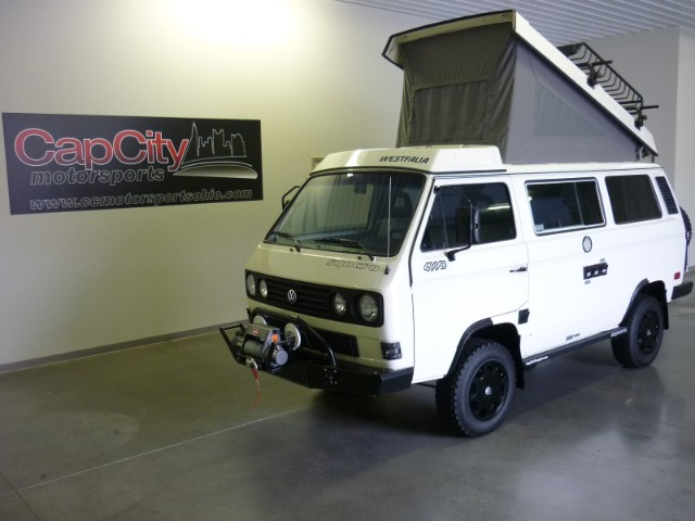 Gorgeous Syncro In White And Black Vanagon Hacks Amp Mods