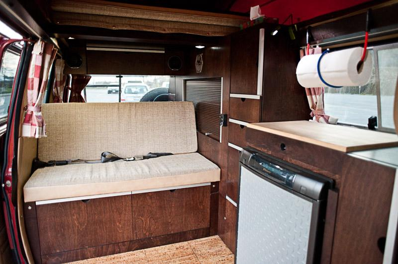 Custom Cherry Wood Vanagon Interior Vanagon Hacks Amp Mods