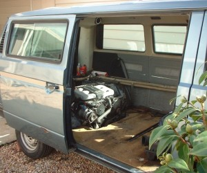 Installing a Chrysler V6 engine in a 1989 Vanagon