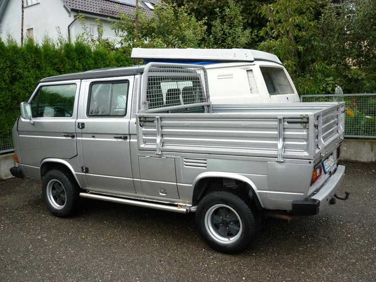 Two Tone Double Cab In Silver