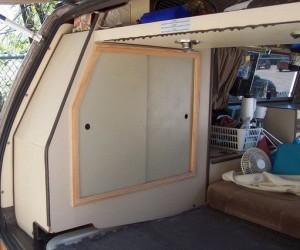 Vanagon Closet Door Mod