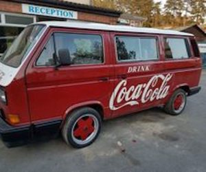 Coca-Cola Lunch Box Theme Vanagon
