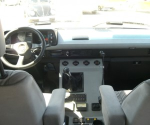 Custom cockpit console