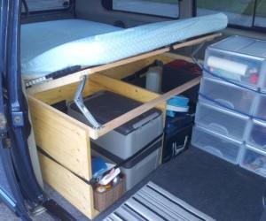 Converting a passenger Vanagon to a camper