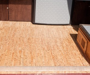 Vanagon cork flooring