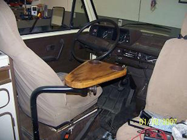 The Arm Rest Cup Holder Table For The Vanagon Vanagon