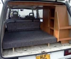 Custom interior cabinets